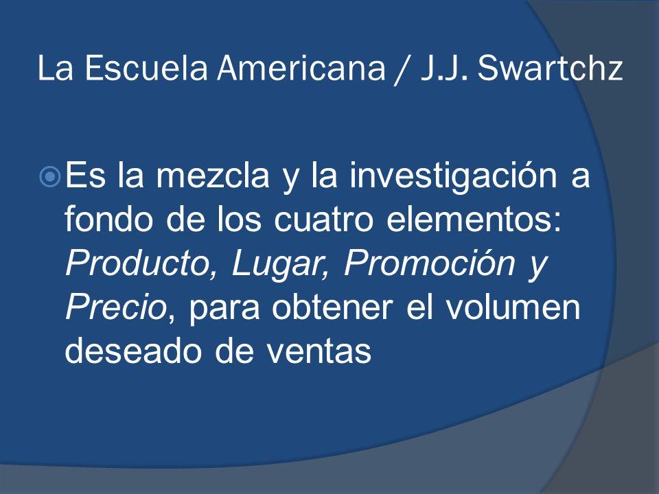 La Escuela Americana / J.J. Swartchz