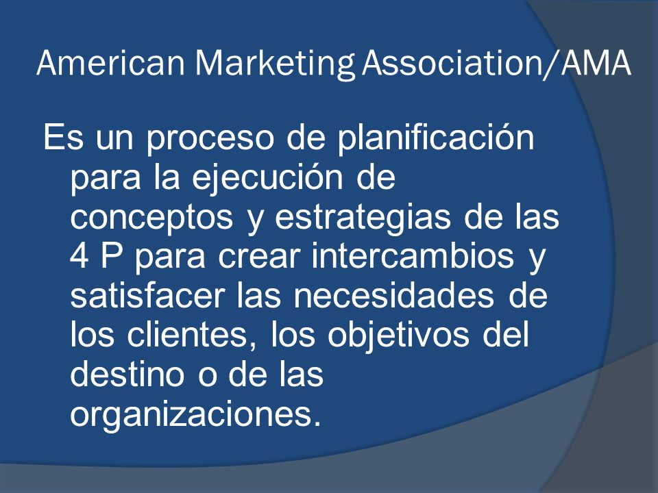 American Marketing Association/AMA