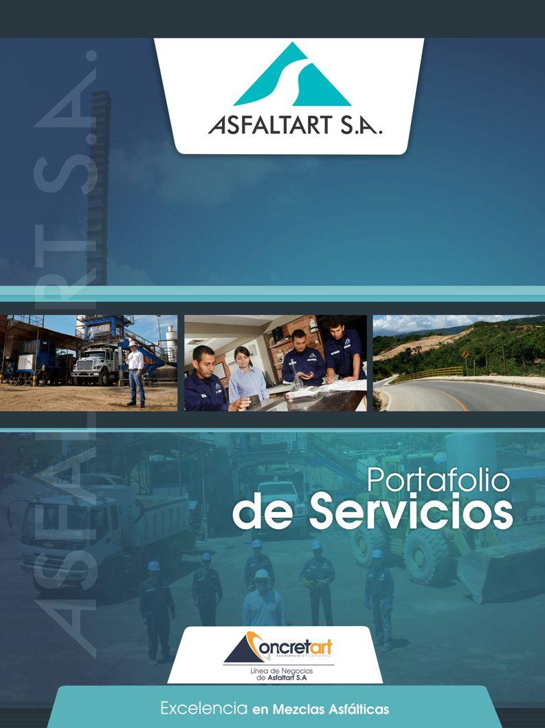 Línea de negocios de ASFALTART S.A.