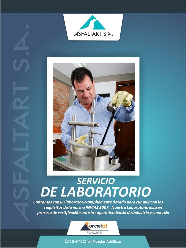 DE LABORATORIO SERVICIO