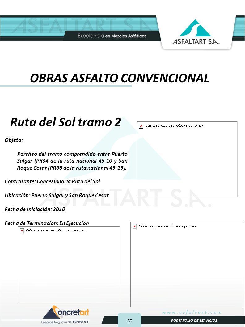 OBRAS ASFALTO CONVENCIONAL