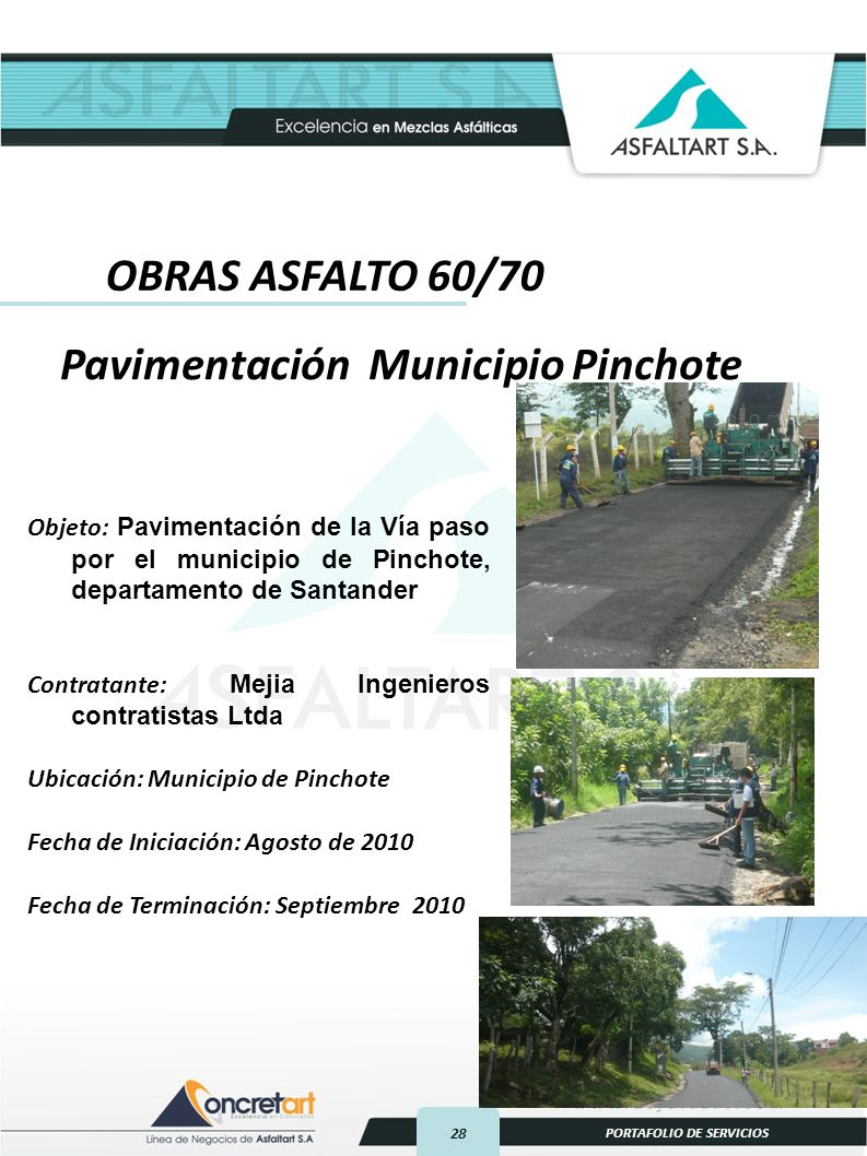 Pavimentación Municipio Pinchote
