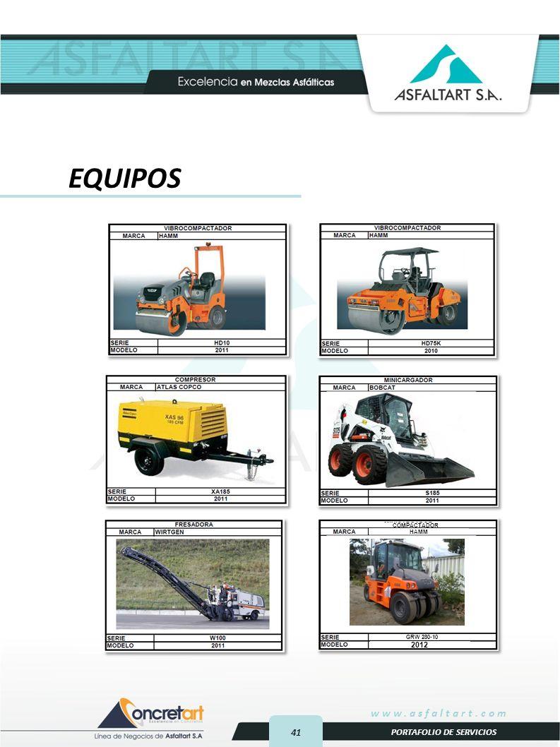 EQUIPOS COMPACTADOR HAMM GRW 280-10 2012