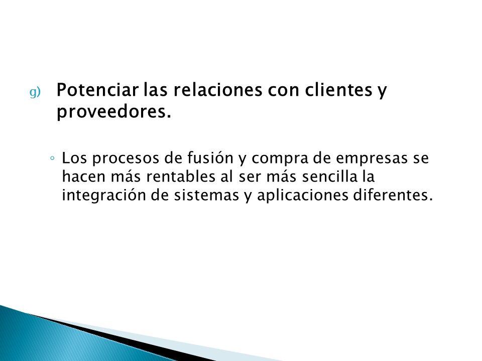 Potenciar las relaciones con clientes y proveedores.