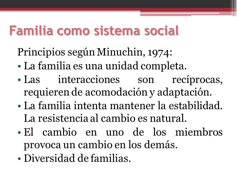 Familia como sistema social