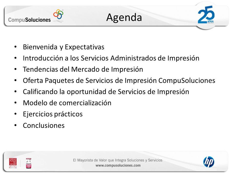 Agenda Bienvenida y Expectativas