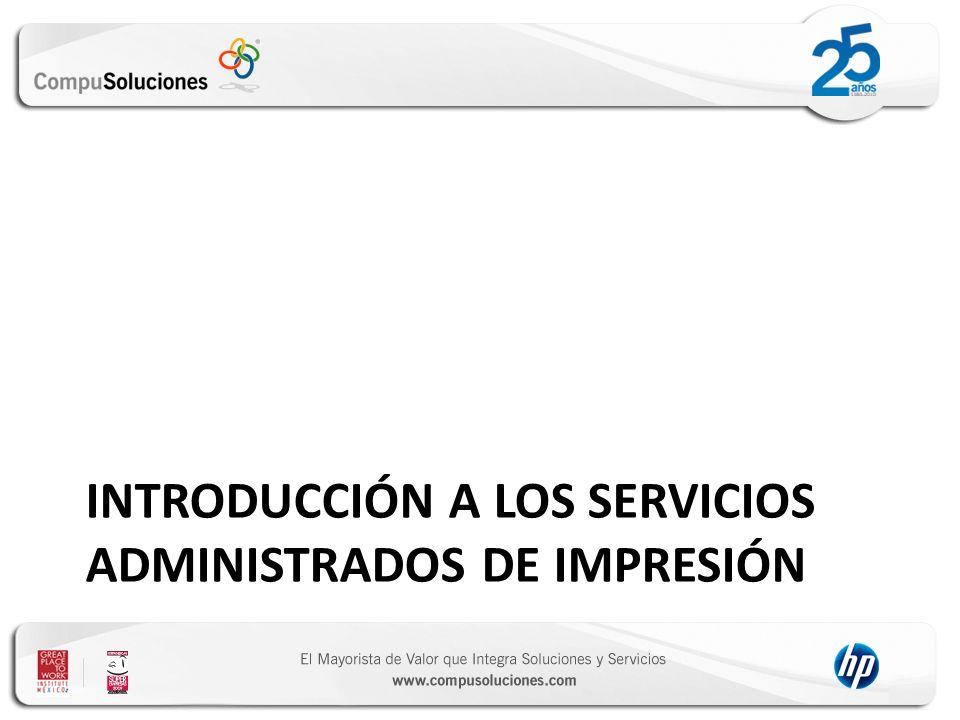 Introducción a los Servicios Administrados de Impresión