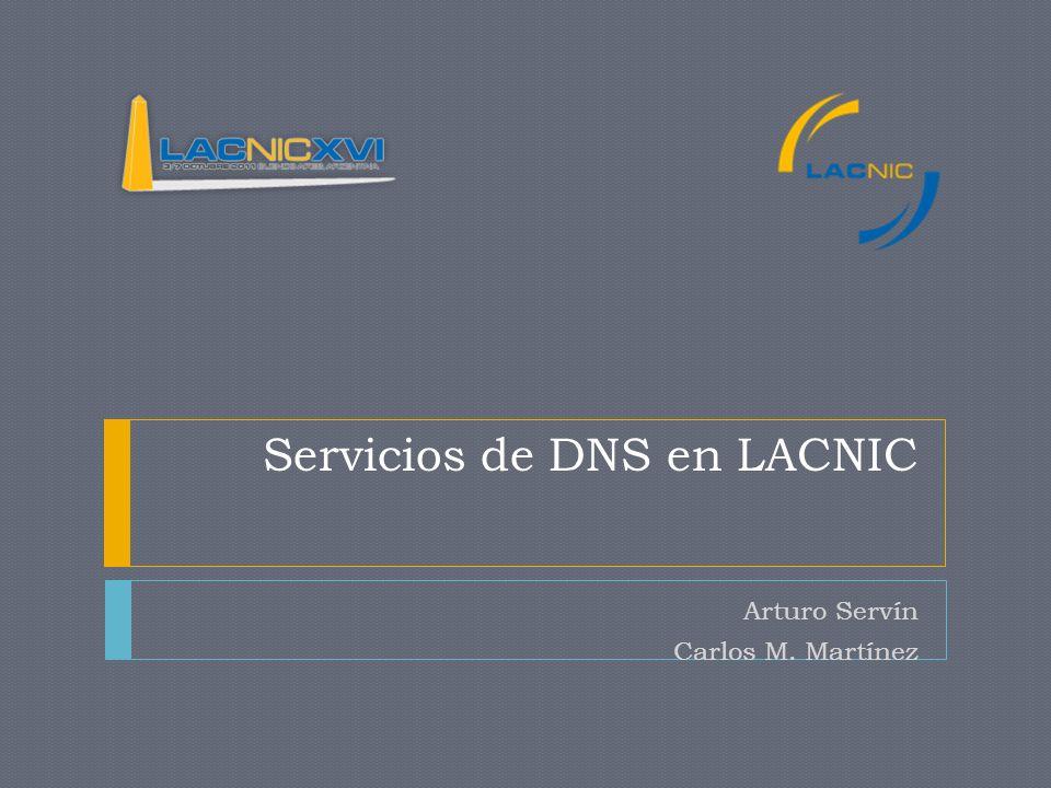 Servicios de DNS en LACNIC