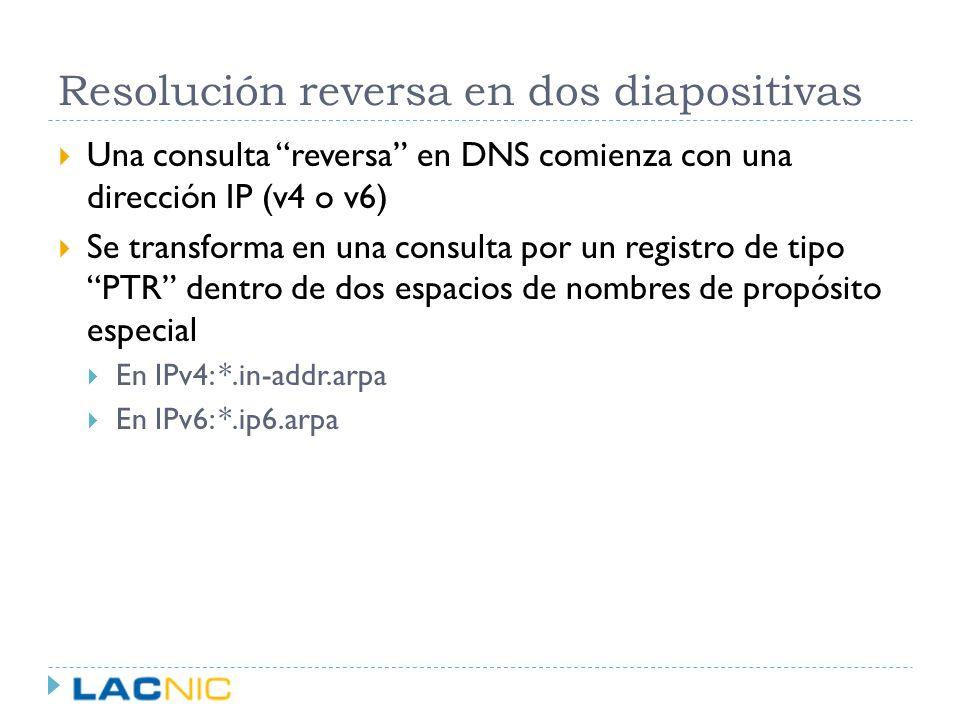 Resolución reversa en dos diapositivas