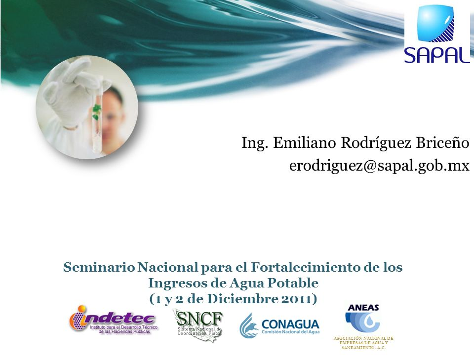 ASOCIACIÓN NACIONAL DE EMPRESAS DE AGUA Y SANEAMIENTO. A.C.