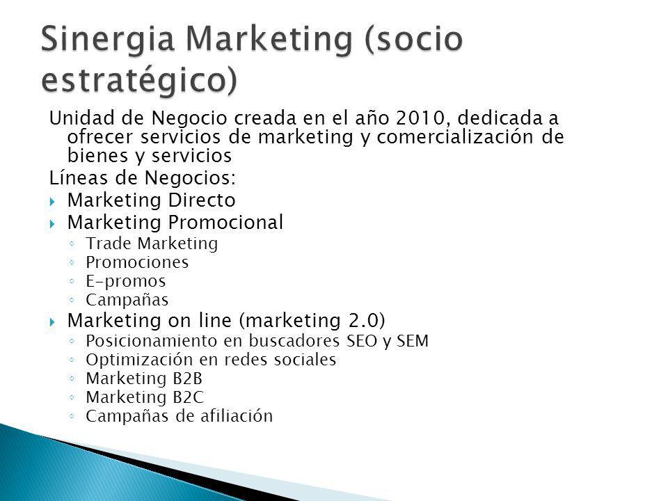 Sinergia Marketing (socio estratégico)