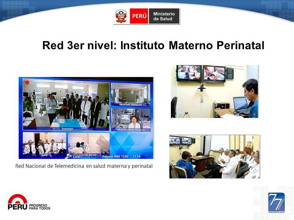 Red 3er nivel: Instituto Materno Perinatal