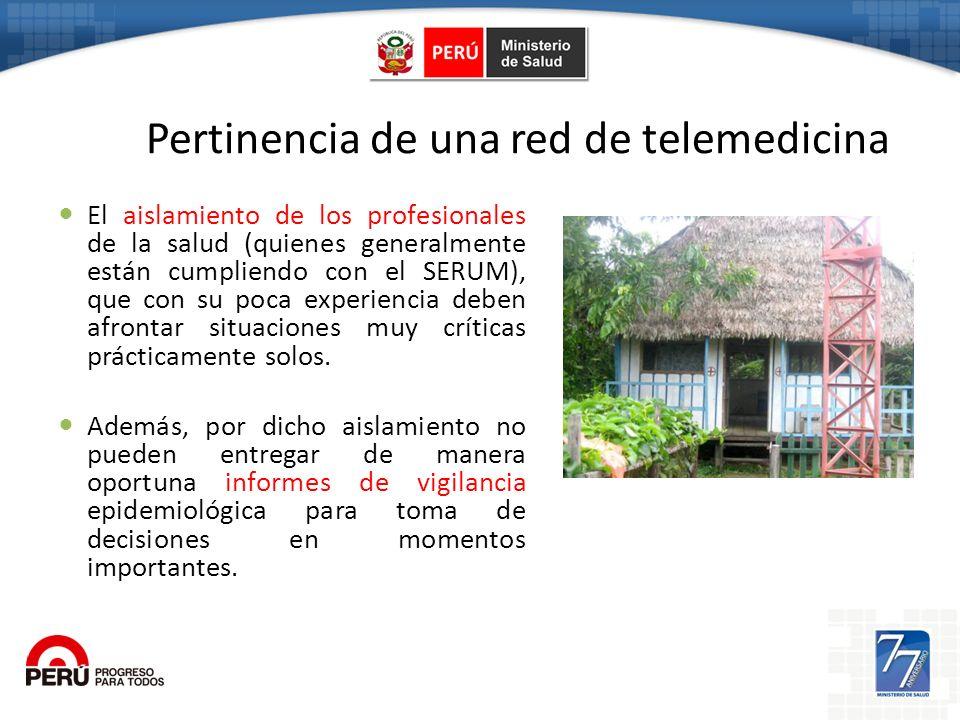 Pertinencia de una red de telemedicina