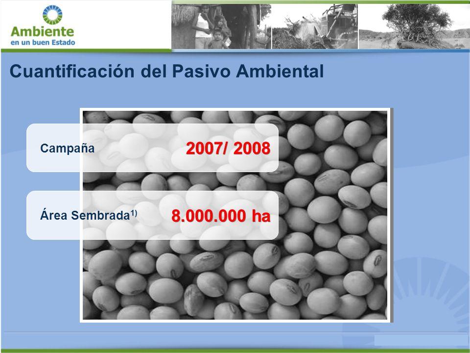Cuantificación del Pasivo Ambiental