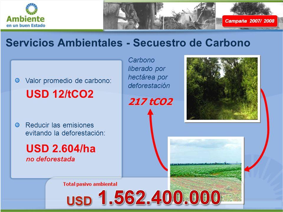 Servicios Ambientales - Secuestro de Carbono