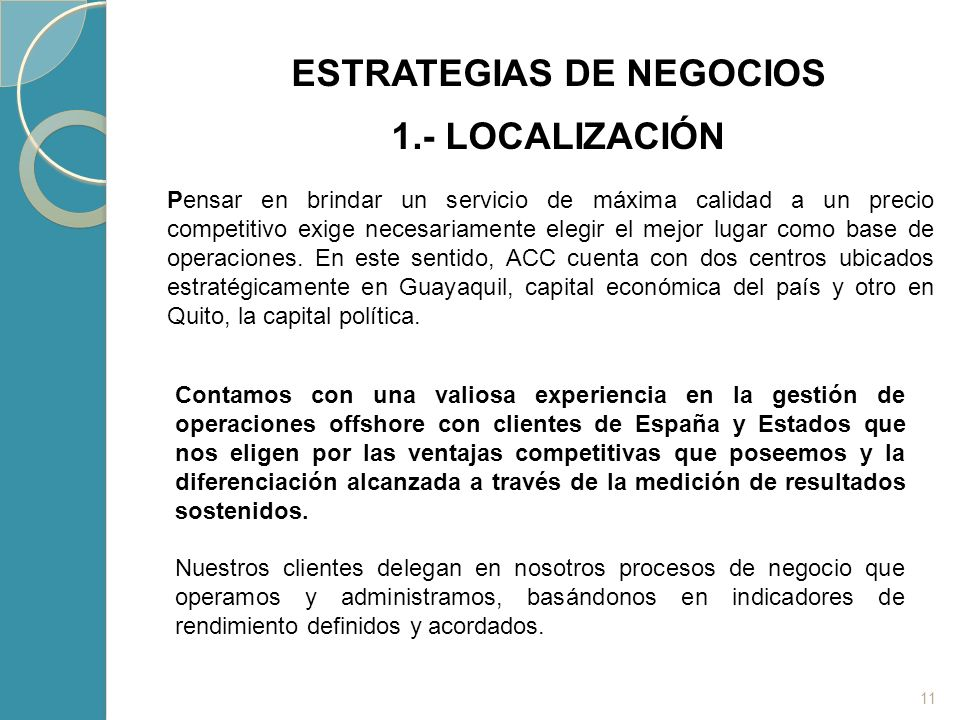 ESTRATEGIAS DE NEGOCIOS