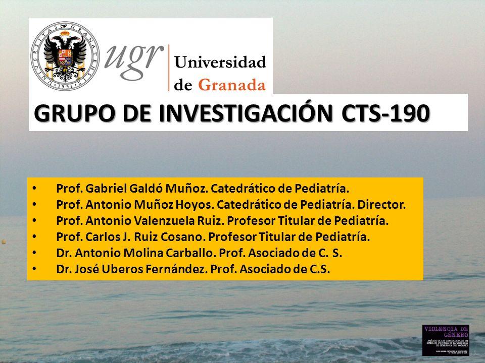 GRUPO DE INVESTIGACIÓN CTS-190