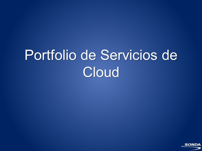 Portfolio de Servicios de Cloud