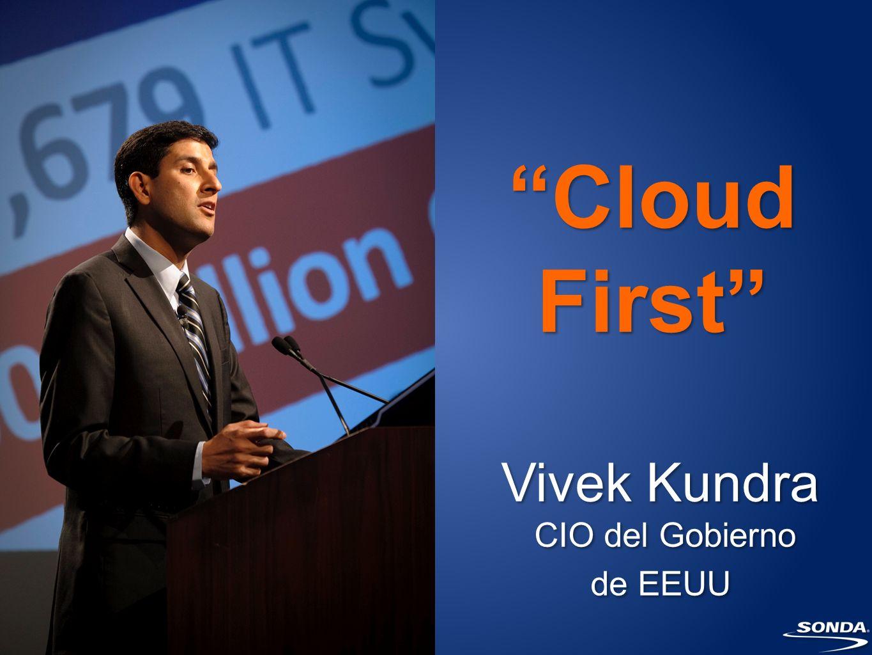 Vivek Kundra CIO del Gobierno de EEUU