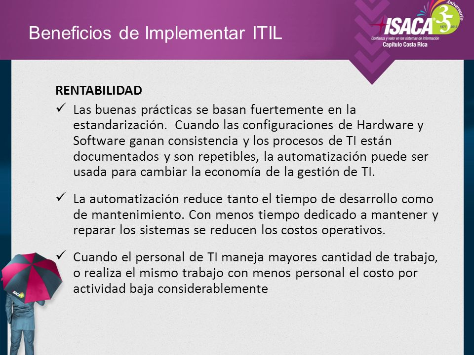 Beneficios de Implementar ITIL