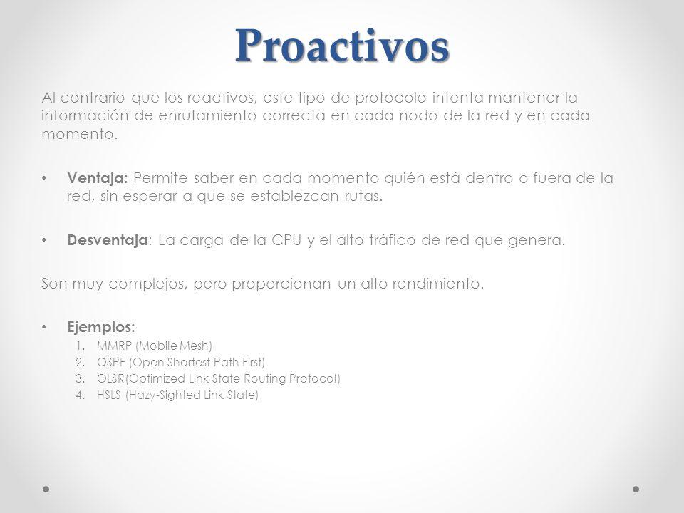 Proactivos