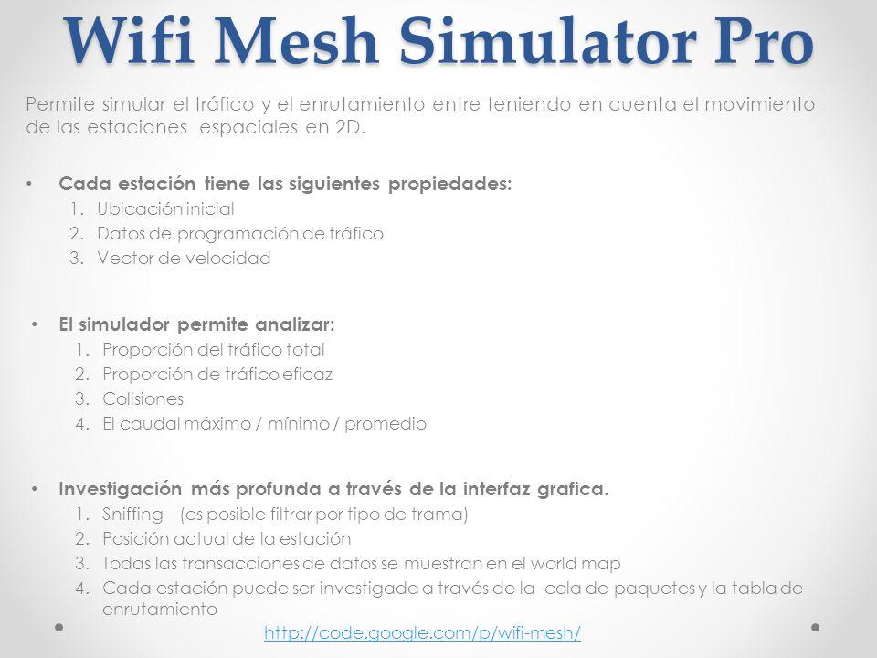 Wifi Mesh Simulator Pro