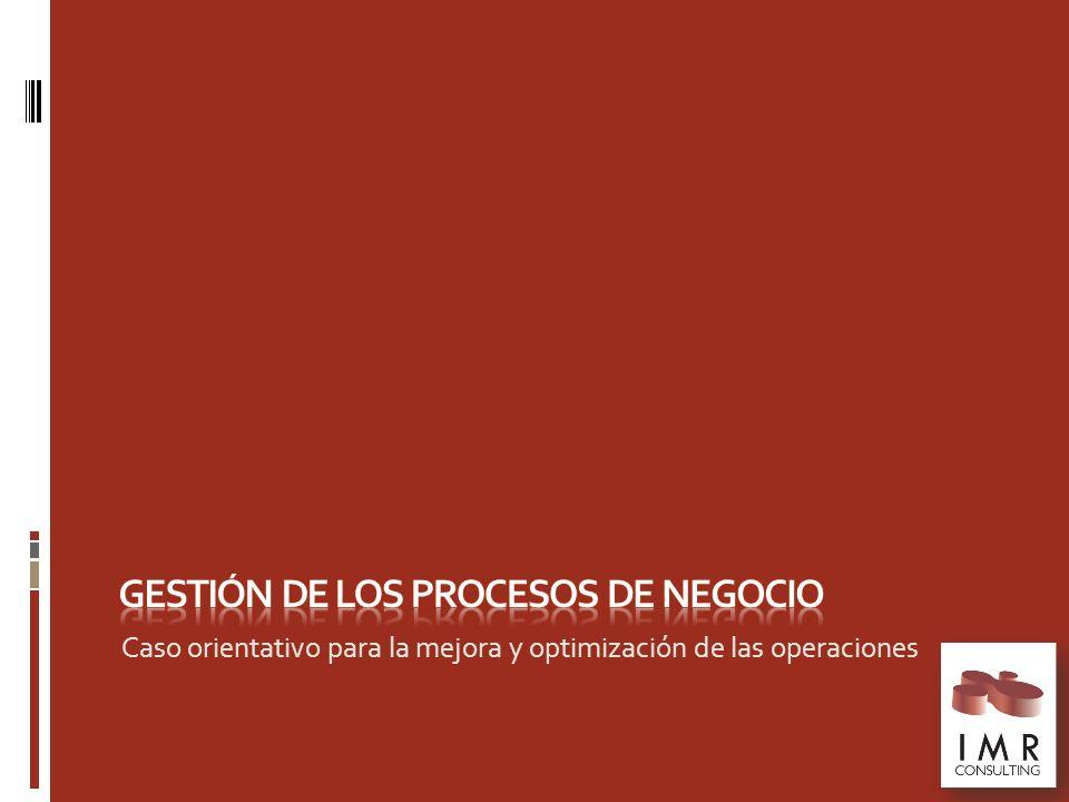 Gestión de los procesos de Negocio