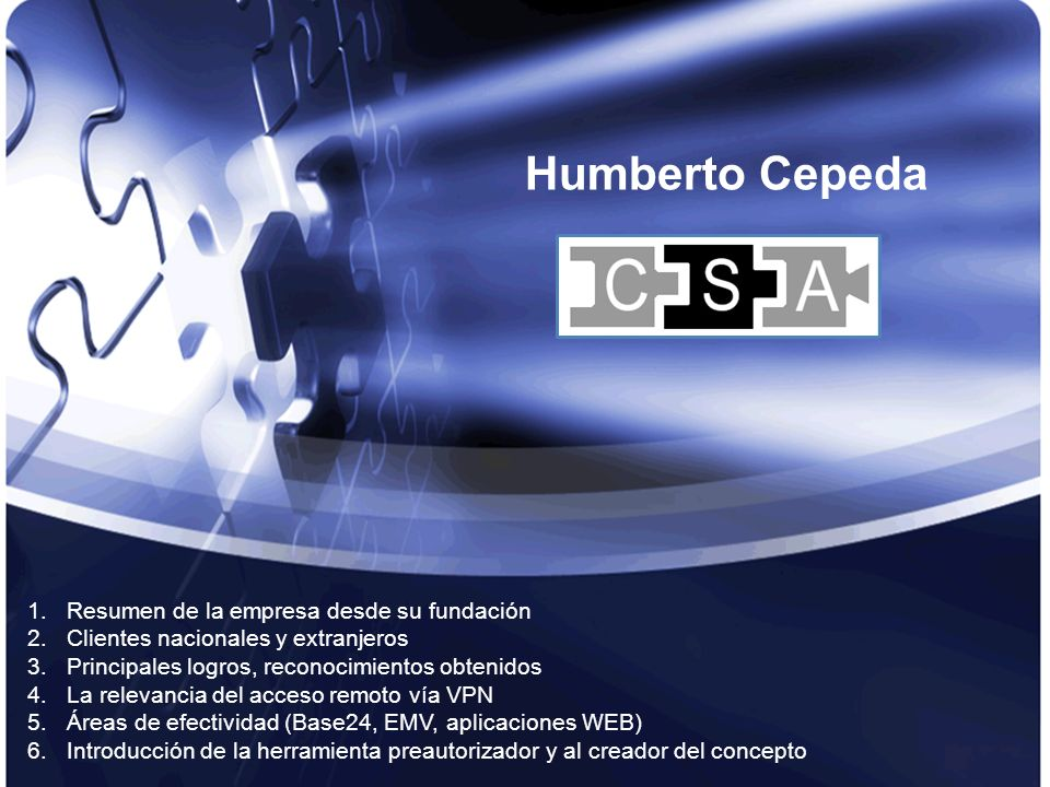 Humberto Cepeda Resumen de la empresa desde su fundación