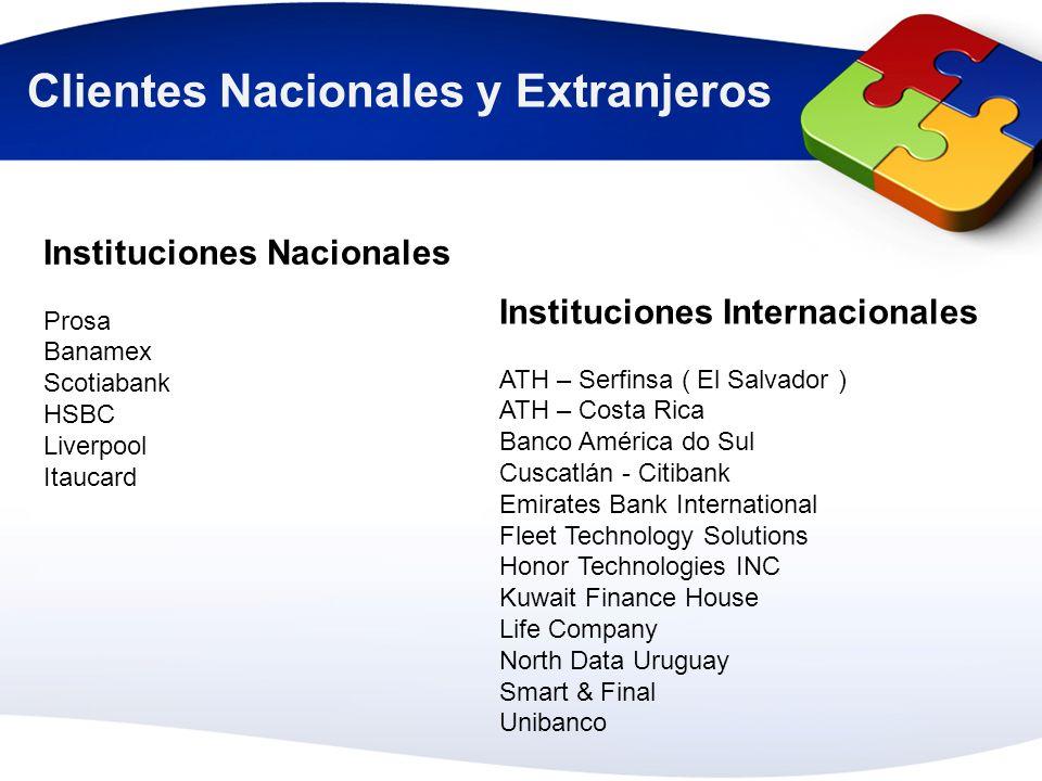 Clientes Nacionales y Extranjeros