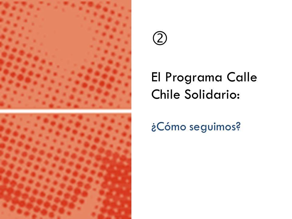  El Programa Calle Chile Solidario: ¿Cómo seguimos