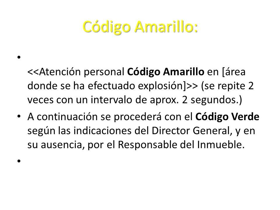 Código Amarillo: