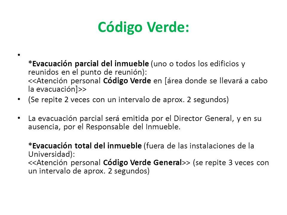 Código Verde: