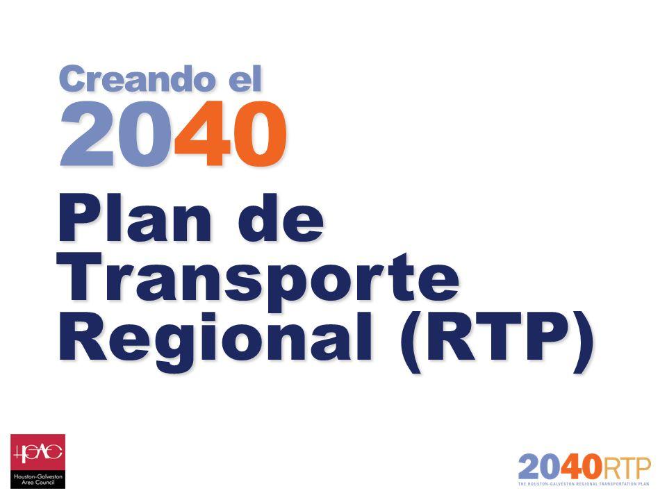 Plan de Transporte Regional (RTP)