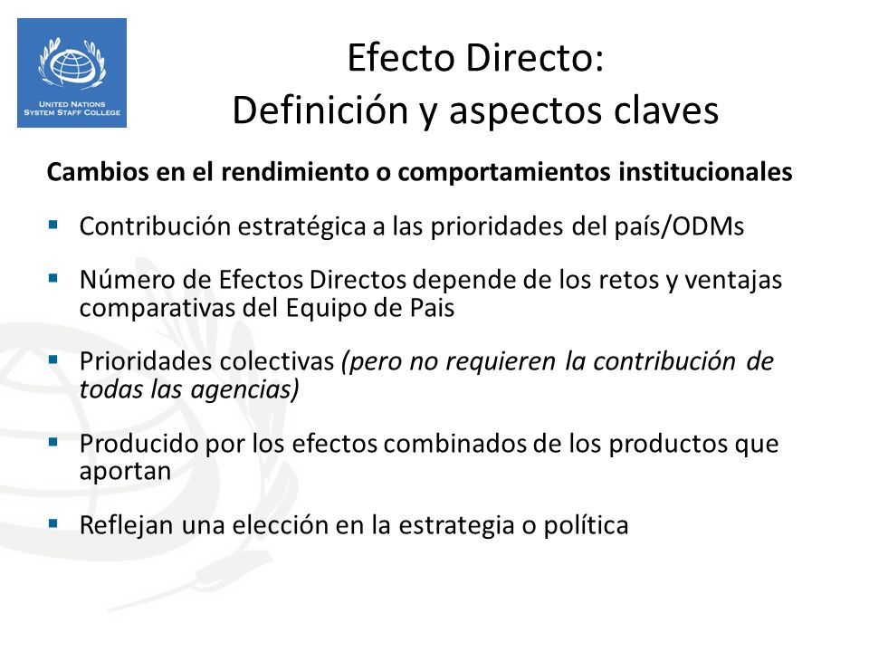 Efecto Directo: Definición y aspectos claves