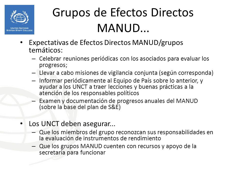 Grupos de Efectos Directos MANUD...