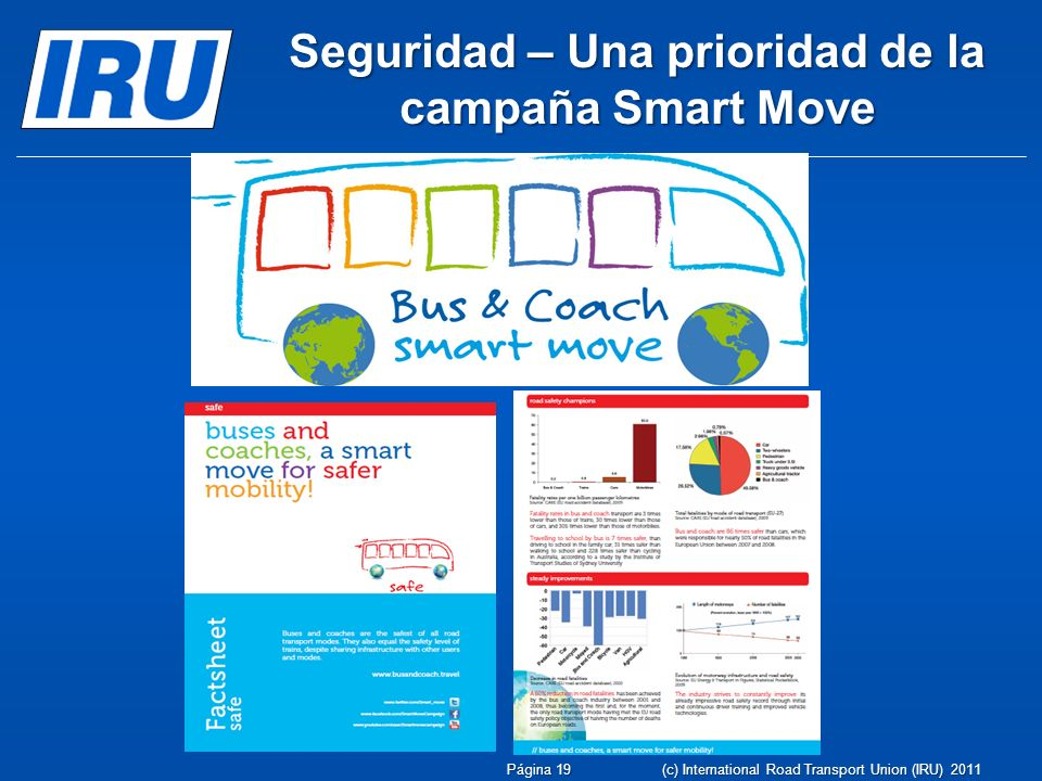 Seguridad – Una prioridad de la campaña Smart Move
