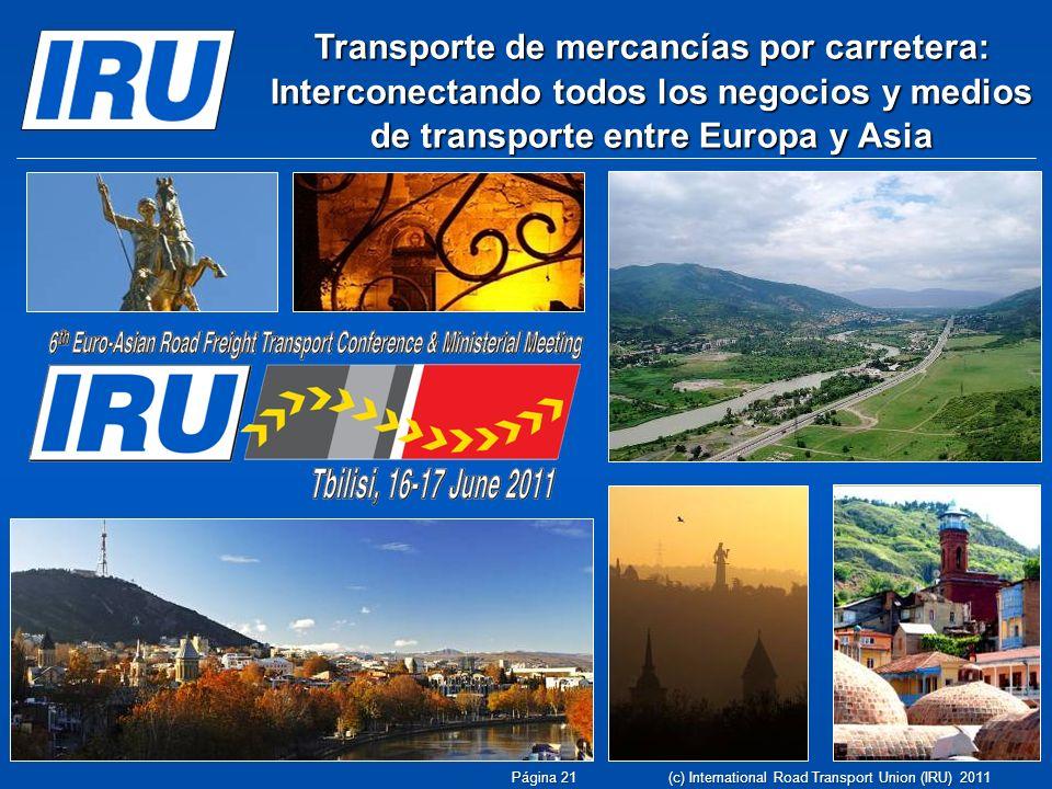 Transporte de mercancías por carretera: Interconectando todos los negocios y medios de transporte entre Europa y Asia