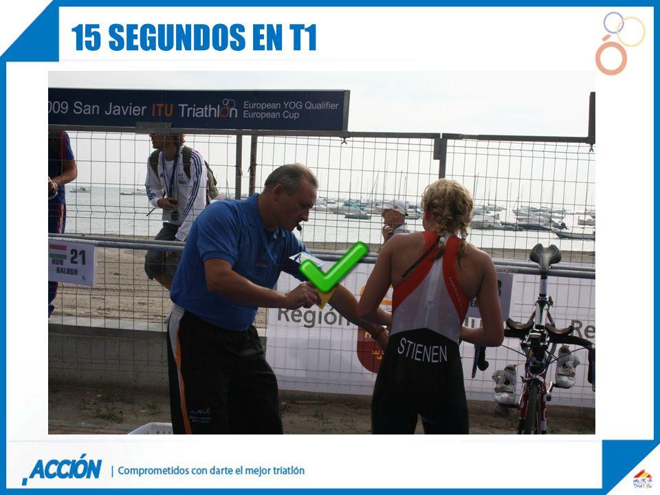 15 segundos en t1