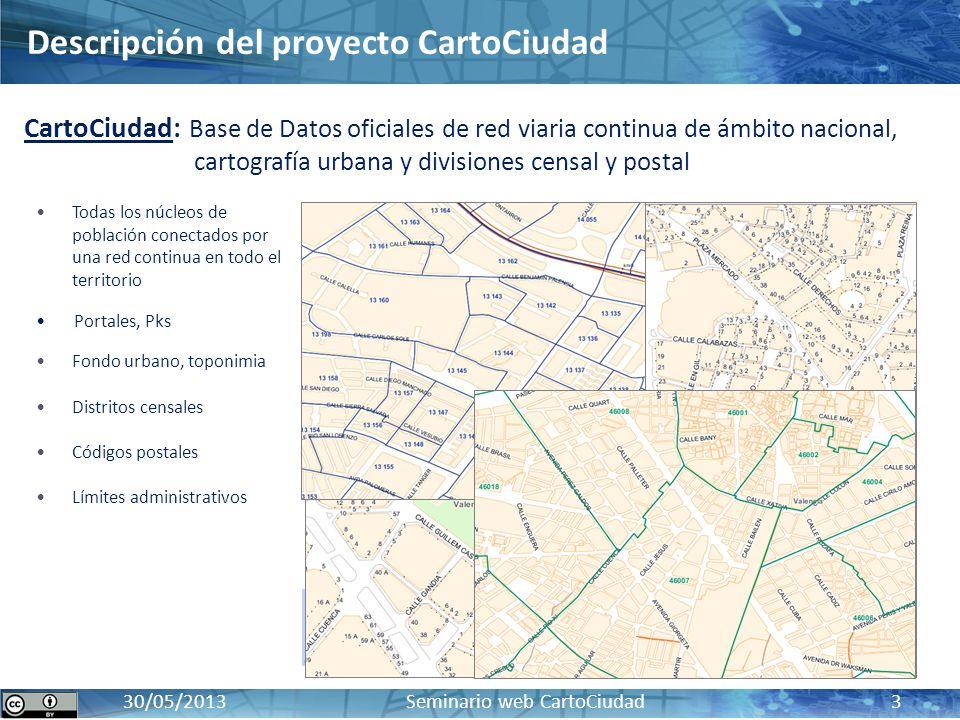 Descripción del proyecto CartoCiudad