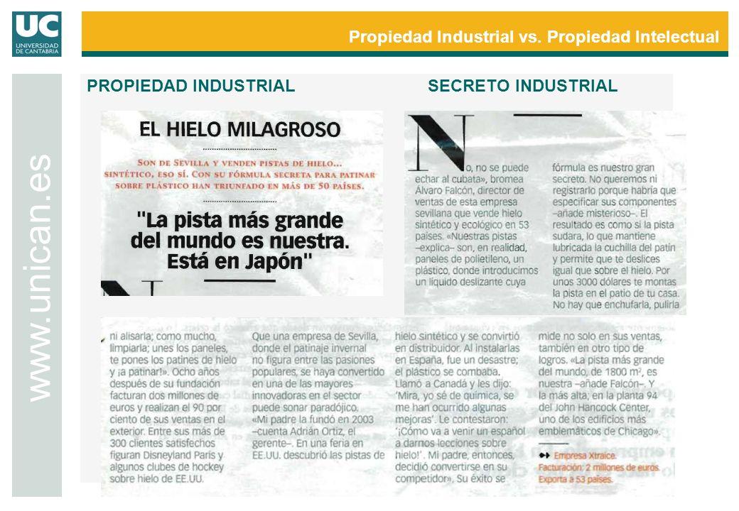 Propiedad Industrial vs. Propiedad Intelectual