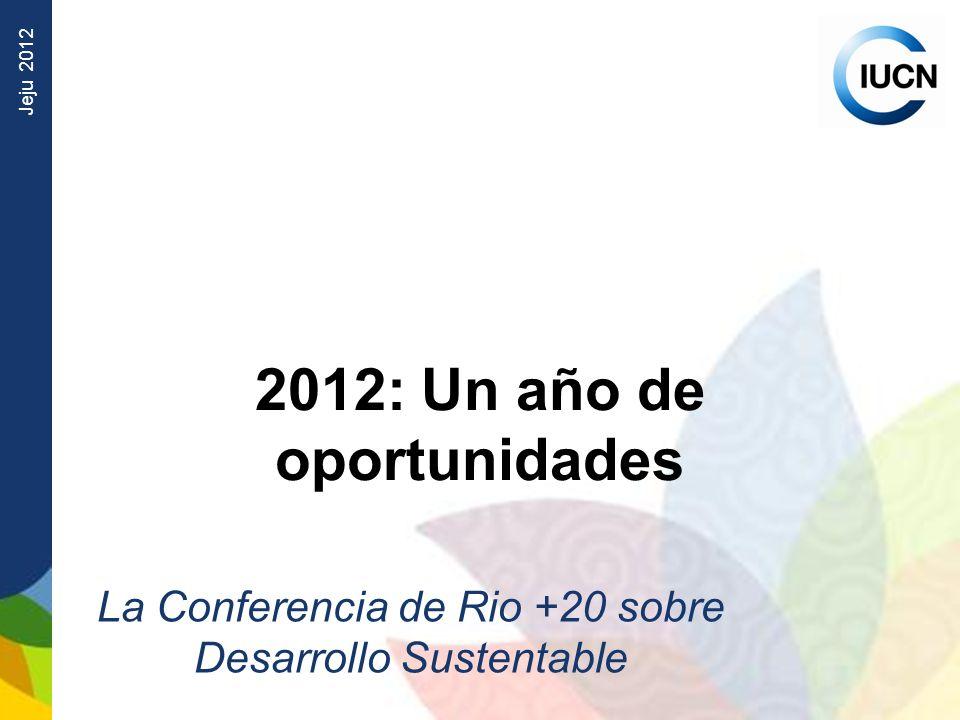 2012: Un año de oportunidades