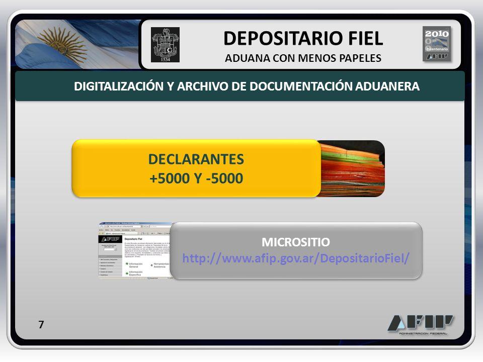 DEPOSITARIO FIEL DECLARANTES +5000 Y -5000
