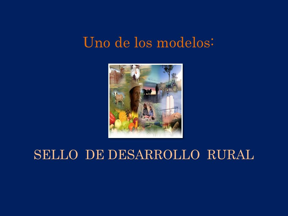 Sello de Desarrollo Rural