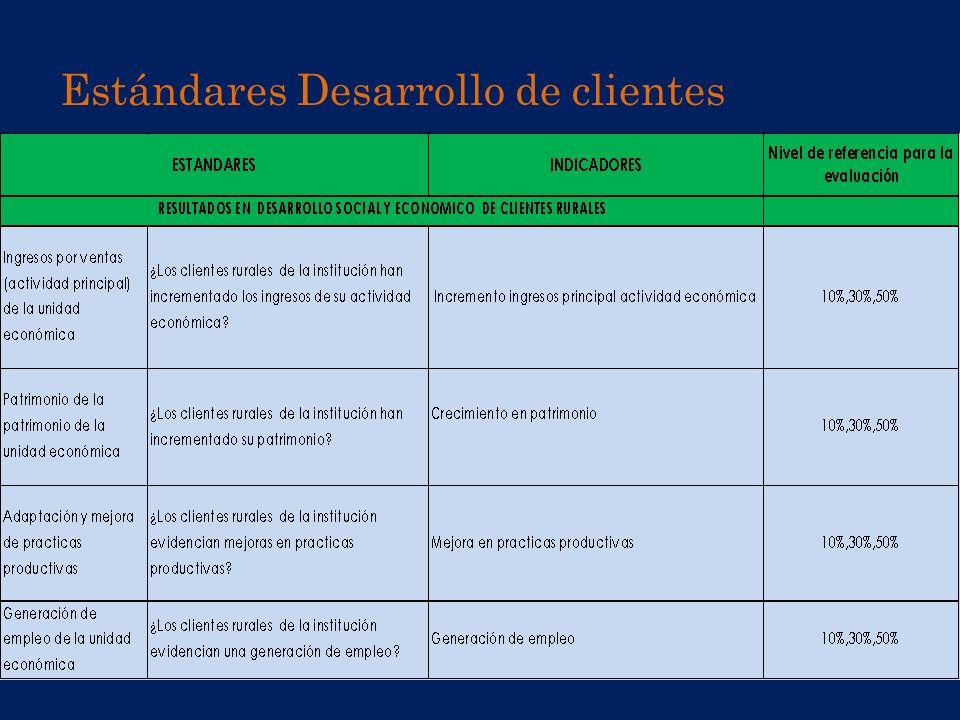 Estándares Desarrollo de clientes