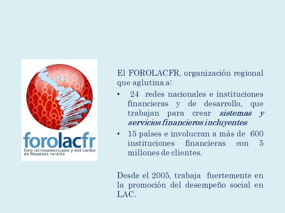 El FOROLACFR, organización regional que aglutina a: