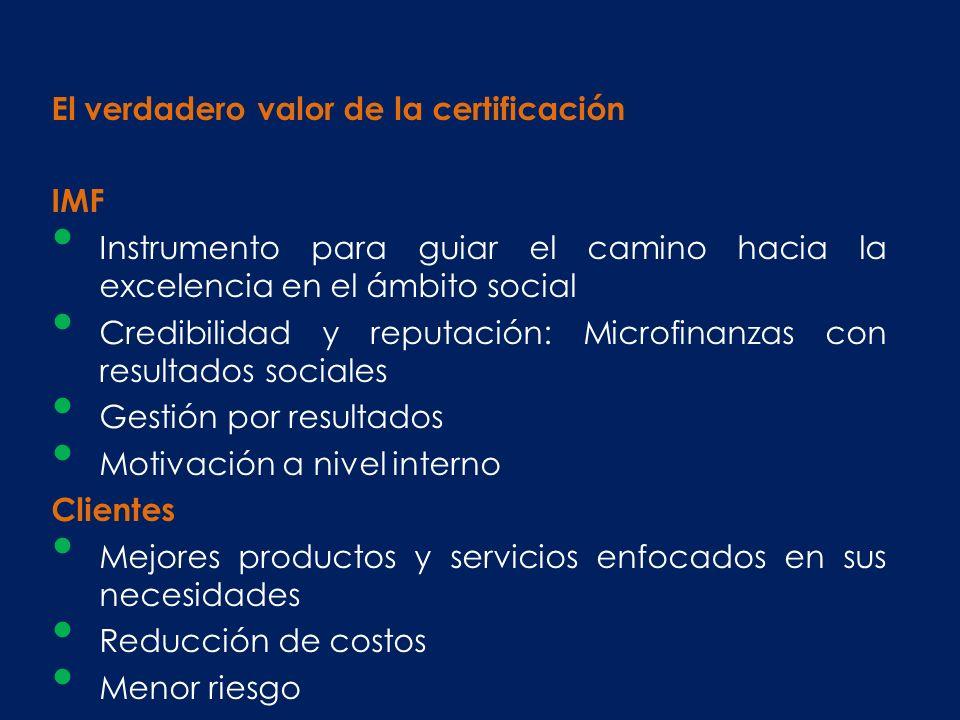 El verdadero valor de la certificación