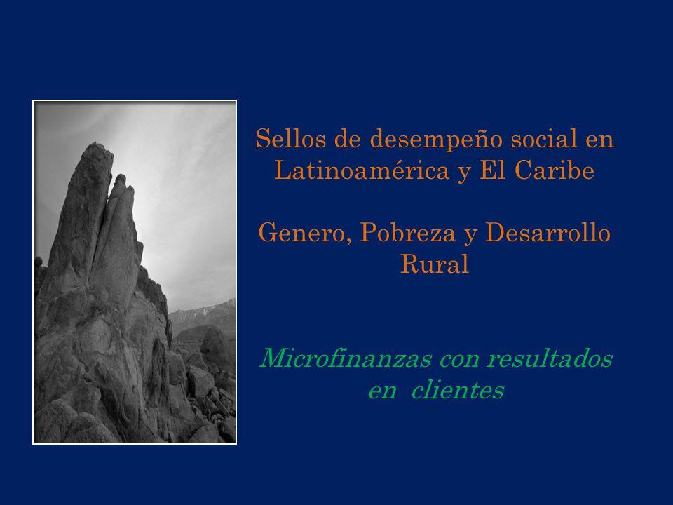 Sellos de desempeño social en Latinoamérica y El Caribe