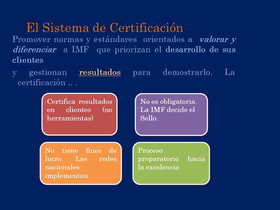 El Sistema de Certificación