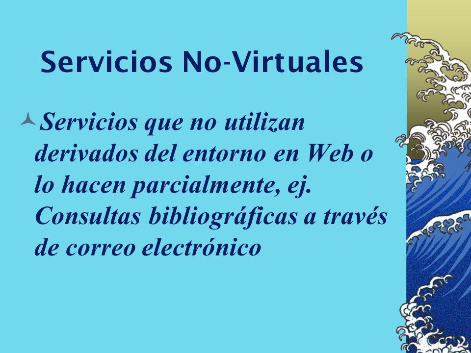 Servicios No-Virtuales