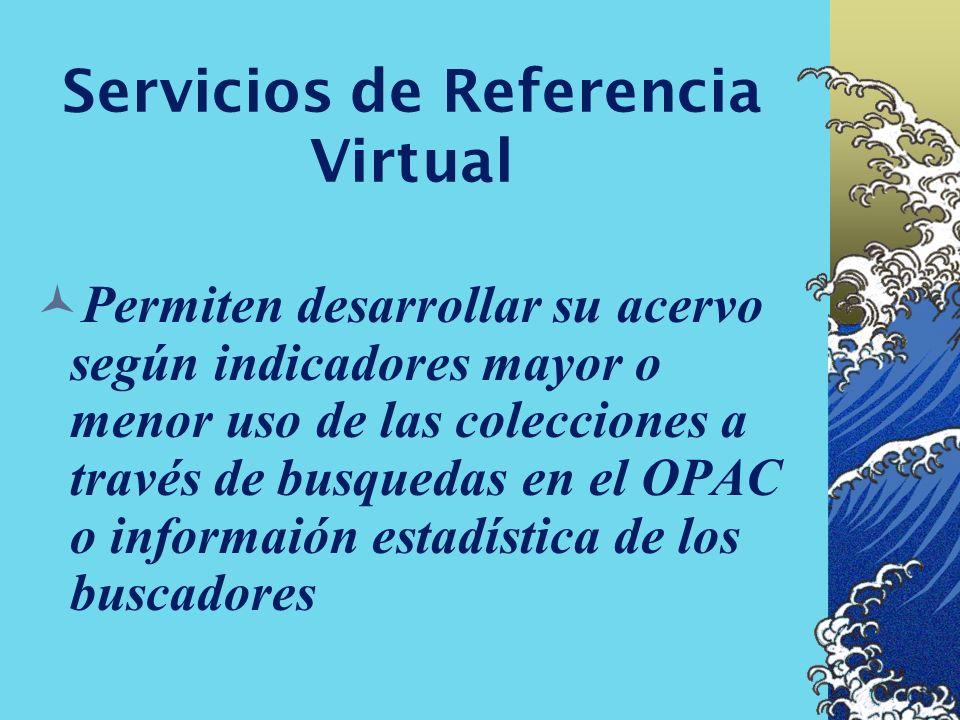 Servicios de Referencia Virtual